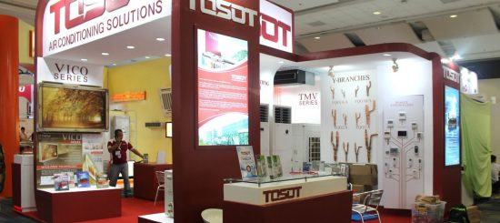 TOSOT in PHILCONSTRUCT Manila 2016