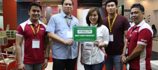 TOSOT wins Best New Product for PHILCONSTRUCT Mindanao 2016