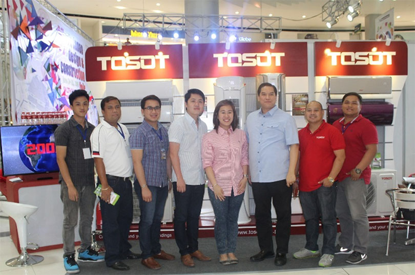 Tosot in 14th Mindanao Design and Construction Fair 2016
