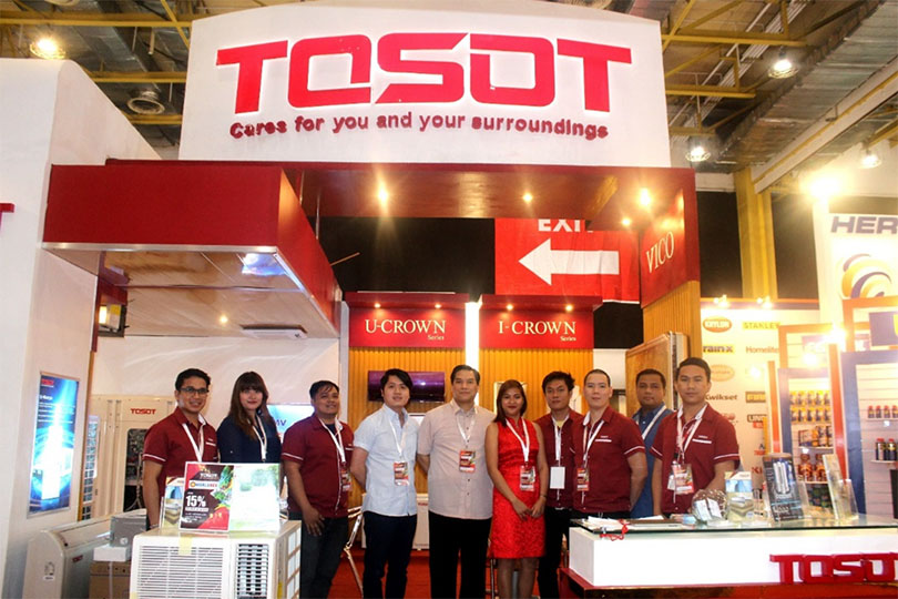 Tosot in Worldbex Event 2016 held in World Trade Center Pasay City